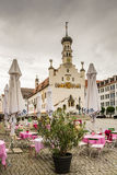 Historic town hall of Kempten Stock Images