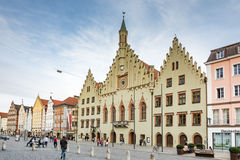 Historic town hall of Landshut Royalty Free Stock Photo