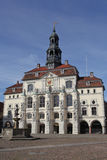 The historic town hall of Lueneburg Royalty Free Stock Photo