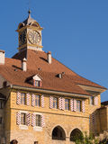 Historic Town Hall in Murten, Switzerland Stock Photos