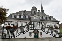 The historic town hall of Rietberg, Germany Stock Photo