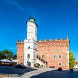 Historic Town Hall in Sandomierz, Poland Stock Images
