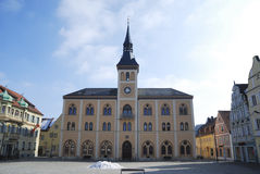 Historic Town Hall Square Stock Image