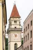 Historic Town Hall Tower of Passau. (Bavaria, Germany stock images