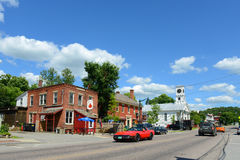 Historic town of Johnson, Vermont Royalty Free Stock Images