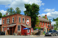 Historic town of Johnson, Vermont Royalty Free Stock Photo