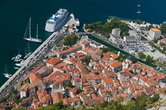Historic town of Kotor UNESCO World Stock Photo