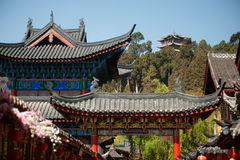 Historic town of Lijiang,UNESCO World heritage sit Stock Image