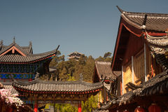 Historic town of Lijiang,UNESCO World heritage sit Stock Photos