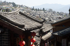 Historic town of Lijiang,UNESCO World heritage sit Royalty Free Stock Image