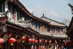 Historic town of Lijiang,UNESCO World heritage sit Stock Images