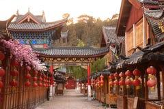 Historic town of Lijiang,UNESCO World heritage site. Stock Photos