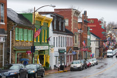 Leesburg, Virginia. Historic town in Loudoun County, Virginia. Now mostly a bedroom and tourist town town not far from Washington, DC Stock Photos