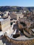 The historic town Matera Royalty Free Stock Photo