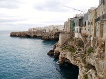 Historic town in the Mediterranean Stock Image