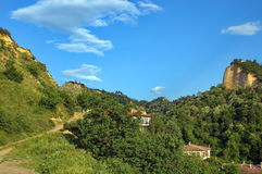 Historic town of Melnik, Bulgaria. Royalty Free Stock Images
