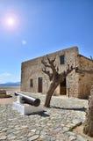Historic town of Monemvasia, Greece Stock Photo