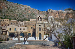 Historic town of Monemvasia, Greece Royalty Free Stock Photography