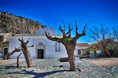 Historic town of Monemvasia, Greece Royalty Free Stock Image