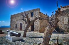 Historic town of Monemvasia, Greece Stock Image