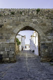 Historic town of Monsaraz, on the right margin of the Guadiana Royalty Free Stock Photography