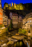 Historic town of Monschau, Germany Stock Photography