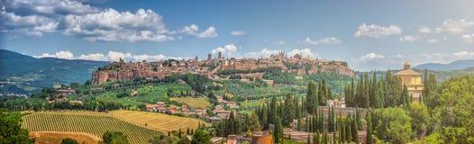 Historic town of Orvieto, Umbria, Italy Stock Photos