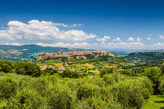 Historic town of Orvieto, Umbria, Italy Stock Images