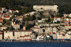 Historic town Sibenik, Croatia Stock Images