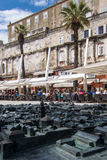 Historic town of Split Stock Image