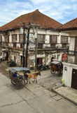 Historic Town of Vigan. Royalty Free Stock Photo