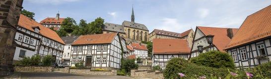 Historic town warburg germany Royalty Free Stock Photos