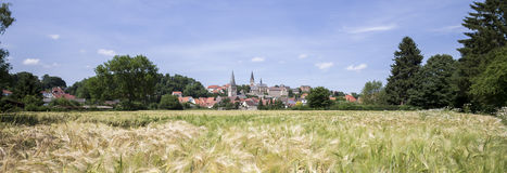Historic town warburg germany Stock Photography