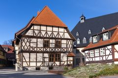 Wernigerode germany. The historic town wernigerode germany royalty free stock photos
