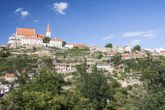 Historic town znojmo, czech republic Stock Photo