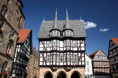 Historic townhall of Alsfeld in Hessen (Germany). Built in the year 1516 royalty free stock photos