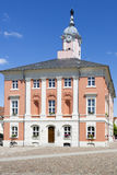 Historic townhall of Templin, East Germany Royalty Free Stock Image