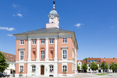 Historic townhall of Templin, East Germany Royalty Free Stock Photo