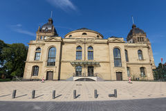 Historic townhall wuppertal germany. The historic townhall wuppertal germany royalty free stock photography