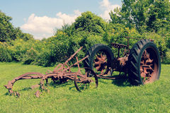 Historic Tractor Royalty Free Stock Images