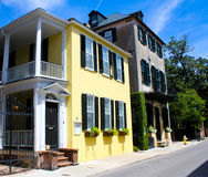 Historic Tradd Street, Charleston, SC. Stock Images