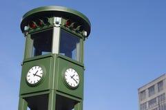 Historic traffic light on Potsdamer Platz, Berlin Royalty Free Stock Photo