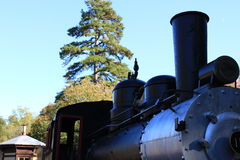 historic train Fotografering för Bildbyråer