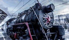 historic train 免版税库存图片