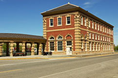Historic Train Depot Stock Photo