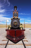 Historic Train Golden Spike Stock Photo