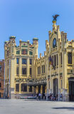 Historic train station in the center of Valencia. Spain Stock Photos