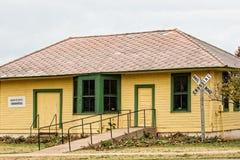 Historic train station Stock Photos