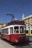 Historic Tram - Lisbon - Portugal stock photo