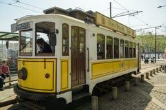 Historic tram number 1 stock photo